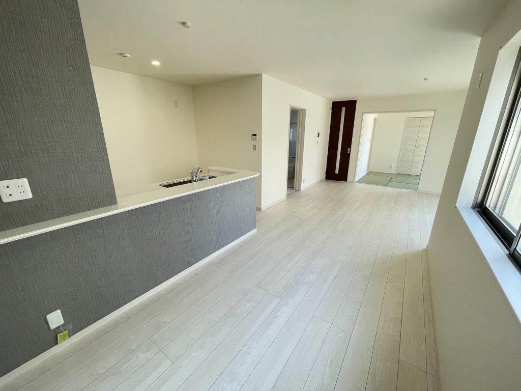 一建設の新仕様「Lスタイル」のキッチン