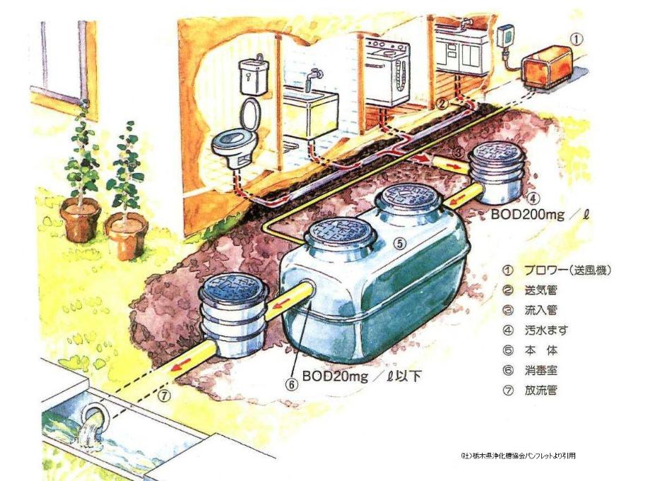 建売で浄化槽の物件を購入するとき・点検や清掃が必要?臭いはする?