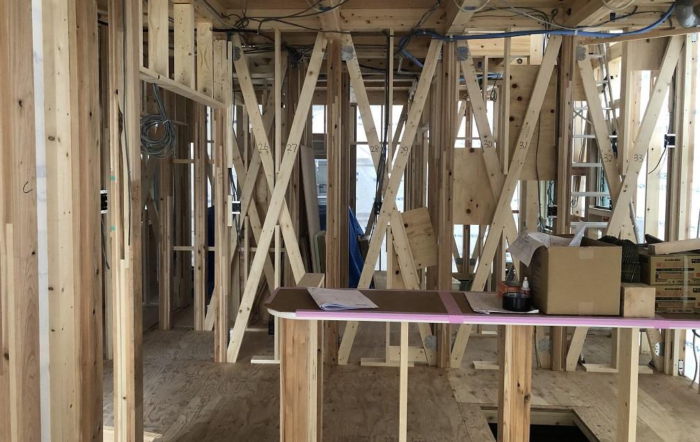 ファースト住建の建売の柱の太さは?建売はどんな木材を使うのか