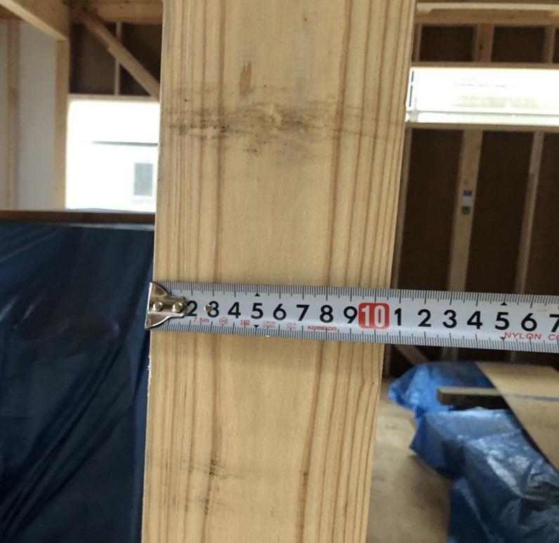 アーネストワンの建売の柱の太さは?建売はどんな木材を使うのか