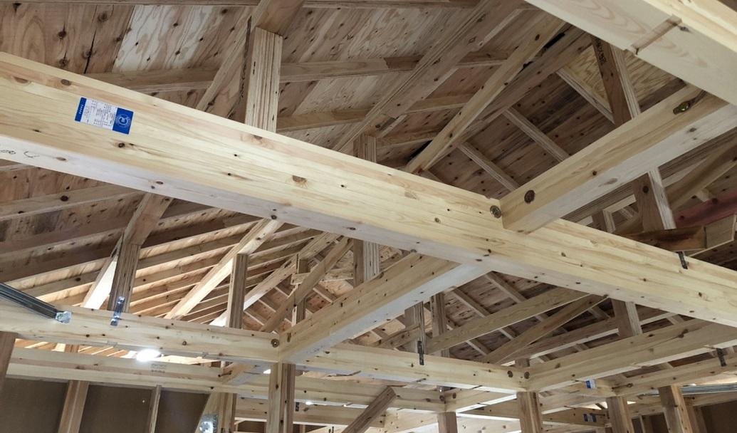 アーネストワンの梁の木材