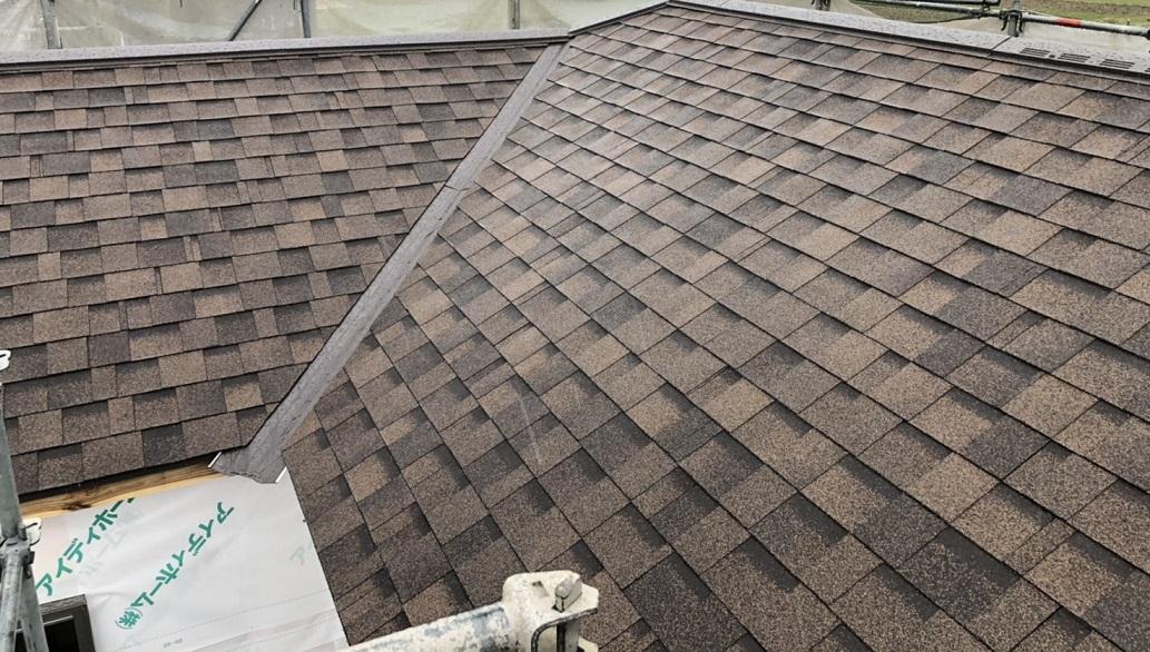 【建売住宅の屋根材】アイディホームの屋根材はアスファルトシングル