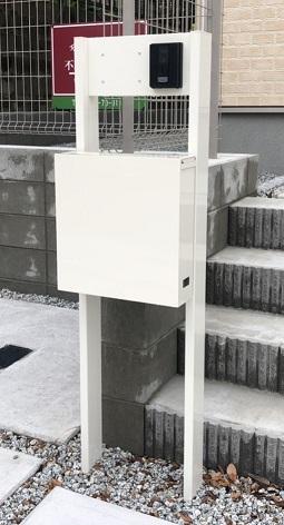 一建設の建売住宅の門柱・ポスト