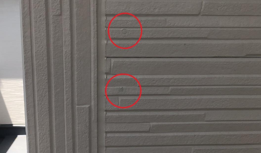 ファースト住建の外壁サイディング固定は釘打ち