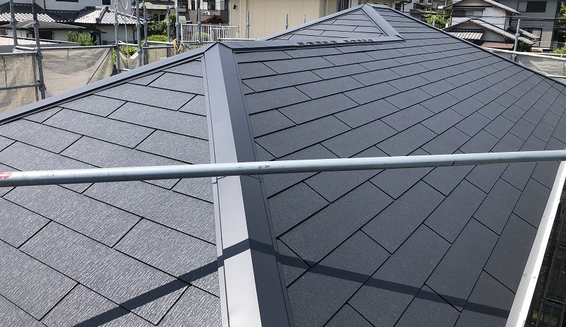 ファースト住建の建売の屋根材はどんなものを使っている【スレート屋根工事中】